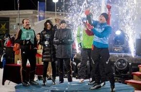Rundfunk Berlin-Brandenburg (rbb): Herausragende Schießleistungen entschieden den Star-Biathlon 2008: Caroline Beil, Jürgen Vogel und Ricco Groß siegten in der Staffel