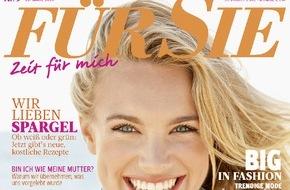 """Jahreszeiten Verlag, FÜR SIE: Comedy-Star Anke Engelke im Exklusiv-Interview mit der FÜR SIE: """"Bloß keine Angst vor Ängsten!"""""""
