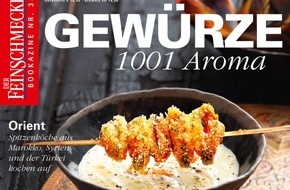 """Jahreszeiten Verlag, DER FEINSCHMECKER: """"Mit 1001 Aromen in den Herbst"""" / Gewürze - das neue Bookazine von DER FEINSCHMECKER"""