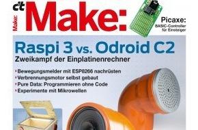 Make: Make-Magazin präsentiert spannende Bastelprojekte / Upcycling: Musik aus dem Abflussrohr