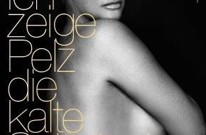 """PETA Deutschland e.V.: Brigitte Nielsen nackt für PETA: """"Ich zeige Pelz die kalte Schulter!"""" / TV-Star kämpft gegen die Pelzproduktion"""