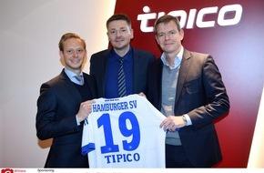 HSV Fußball AG: HSV-Presseservice: HSV und Tipico verlängern Partnerschaft