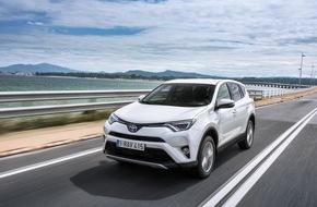 Toyota Schweiz AG: Le nouveau Toyota RAV4 Hybride - prestige, confort et efficacité