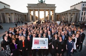 Great Place to Work® Institut Deutschland: Great Place to Work: Das sind «Deutschlands Beste Arbeitgeber 2016»