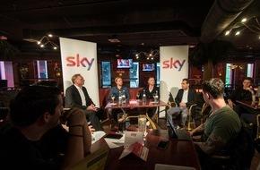 Sky Deutschland: Sky bringt prominente Fußballexperten an den Stammtisch in Stuttgarter Sportsbar