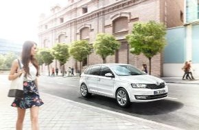 Skoda Auto Deutschland GmbH: SKODA Rapid Drive: Attraktives Sondermodell mit umfangreicher Serienausstattung