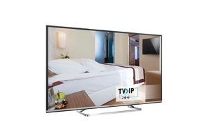Panasonic Deutschland: Panasonic auf der ANGA COM 2016 / Auf der Messe zeigt Panasonic smartes Hotel-TV mit TV>IP sowie Ultra HD Premium