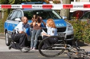 Polizeipressestelle Rhein-Erft-Kreis: POL-REK: Fahrradfahrerin verletzt - Hürth