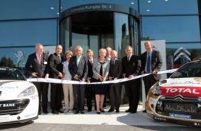 Peugeot Deutschland GmbH: PSA eröffnet neue Deutschlandzentrale - Ministerpräsidentin Hannelore Kraft würdigt Bedeutung für NRW