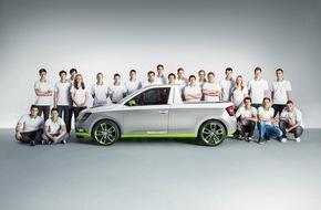 Skoda Auto Deutschland GmbH: 'AzubiCar' mit Spaßfaktor: Der Pickup SKODA FUNstar