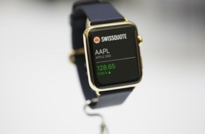 Swissquote Bank SA: Swissquote, première banque suisse à lancer une app pour l'Apple Watch