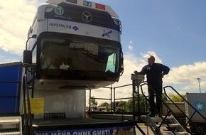 Verkehrsdirektion Mainz: POL-VDMZ: Hat´s geklickt? Die Polizei berät Gurtmuffel