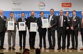 Deutsche Energie-Agentur GmbH (dena): dena verleiht Energy Efficiency Award an Lidl, Bauer, InfraLeuna und Bharat / Drei deutsche und ein indisches Unternehmen für Energieeffizienzprojekte ausgezeichnet
