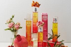 Weleda AG: Die neuen Weleda Eaux Naturelles Parfumées: Natürliche Düfte aus dem Garten der Natur