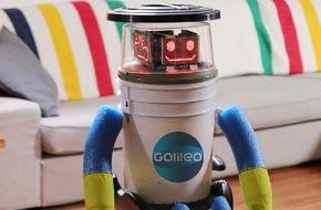 """ProSieben Television GmbH: Ein Roboter trampt durch Deutschland: Das hitchBOT-Experiment ab 13. Februar bei """"Galileo"""""""