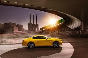 Ford-Werke GmbH: Ford Mustang ist meistverkauftes Sport-Coupé der Welt; Nachfrage nach dem Pony Car steigt in Europa weiter an