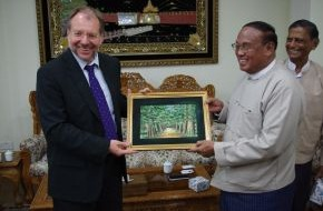 Hanns-Seidel-Stiftung: Hanns-Seidel-Stiftung eröffnet Vertretung in Myanmar / Unterstützung der Demokratisierungsbemühungen