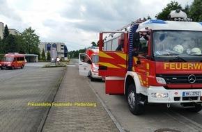 Feuerwehr Plettenberg: FW-PL: Schwelbrand in einem Traforaum sorgte für Einsatz der Feuerwehr in Plettenberg OT-Köbbinghauser Hammer