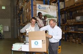 action medeor: action medeor: Medikamente für die Rettung von Flüchtlingen im Mittelmeer