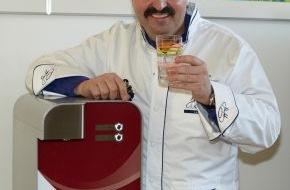 """BRITA GmbH: Johann Lafer und BRITA Ionox haben Projekt """"Gesunde Schulverpflegung"""" am Gymnasium Römerkastell in Bad Kreuznach gestartet"""