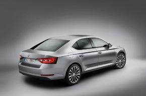 Skoda Auto Deutschland GmbH: Neuer SKODA Superb ab sofort bestellbar