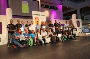 """Jetten-Fischer-Petrovan GbR: GAADI Bicycle Tube gewinnt """"Eurobike Award 2013"""" / GAADI gewinnt Gütesiegel der Fahrradbranche in Kategorie Zubehör / Auszeichnung der Eurobike für Mönchengladbacher Unternehmen"""