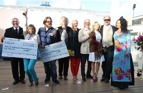 """Hapag-Lloyd Kreuzfahrten GmbH: """"MS EUROPA meets Sansibar 2015"""": Gesine Cukrowski und Antoine Monot Jr. sind die Sieger des diesjährigen MS EUROPA Poetry Award"""