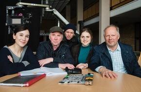 """NDR / Das Erste: Drehstart mit Starbesetzung: Kieler NDR-""""Tatort"""" mit Axel Milberg,  Sibel Kekilli, Jürgen Prochnow und Mala Emde"""
