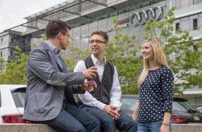 Audi AG: Universum-Studie: Spitzenplatzierungen für Audi bei Young Professionals
