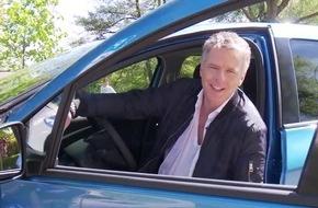 TV-Stars fahren elektrisch: Jörg Pilawa setzt auf den Renault ZOE