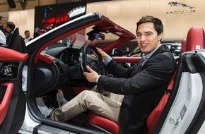 JAGUAR Land Rover Schweiz AG: L'escrimeur de pointe suisse Max Heinzer