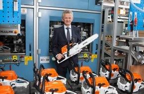 ANDREAS STIHL AG & Co. KG: STIHL erzielt mit 3,25 Milliarden Euro neuen Rekordumsatz