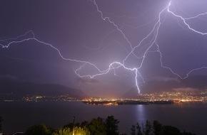 Wetter-Alarm: Dieci anni di Allarme-Meteo: il servizio di informazione sul maltempo festeggia l'anniversario (IMMAGINE)