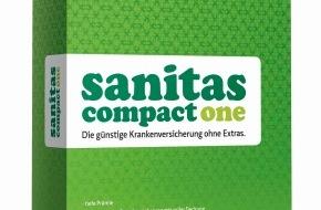 Sanitas Krankenversicherung: Sanitas lanciert die neue Krankenversicherung Compact One