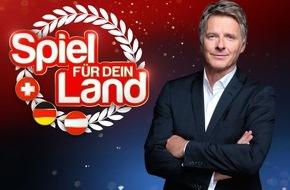 """ARD Das Erste: Das Erste / """"Spiel für dein Land"""" - Das größte Quiz Europas / Jörg Pilawa präsentiert am 31. Oktober 2015 um 20:15 Uhr live die neue große Samstagabendshow im Ersten, in ORF 2 und auf SRF 1"""