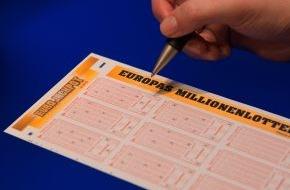Eurojackpot: 50 Mio. Euro Grenze geknackt - Größter jemals existierender Jackpot in Deutschland steigt auf ca. 56 Mio. Euro