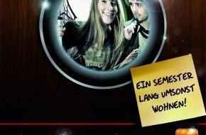 Microsoft Deutschland GmbH: Zimmer frei - Sing Dich rein mit LIPS / Mit dem Xbox 360 Sing- und Partyspiel ein Semester lang kostenfrei wohnen