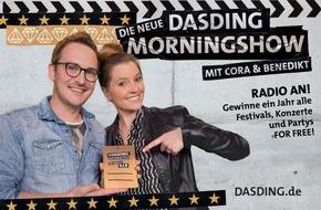 SWR - Südwestrundfunk: DASDING-Goldpass: ein Jahr VIP-Status gewinnen!