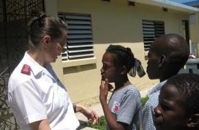 Heilsarmee / Armée du Salut: Haïti: L'Armée du Salut poursuit son aide