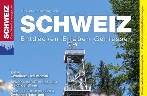 Wandermagazin SCHWEIZ: Wandermagazin SCHWEIZ: Hoch hinaus - Aussichtstürme der Schweiz