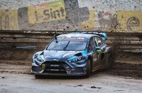 Ford-Werke GmbH: RallyCross-WM Portugal: Saisonstart für Ken Block und Andreas Bakkerud im 600 PS starken Ford Focus RS RX