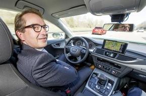 "Audi AG: Audi-Chef Stadler trifft G7-Verkehrsminister: ""Künstliche Intelligenz kann Leben retten"""