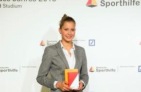 Stiftung Deutsche Sporthilfe: U23-Triathlon-Weltmeisterin und Oxford-Studentin Sophia Saller ist Sport-Stipendiat des Jahres 2015