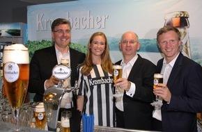 Krombacher Brauerei GmbH & Co.: Krombacher wird erneut Hauptsponsor von Eintracht Frankfurt