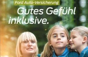 """Ford-Werke GmbH: """"Gutes Gefühl inklusive"""": Ford schenkt Privatkunden bei vielen Pkw-Neufahrzeugen drei Monate Versicherungsprämie"""