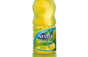 Coca-Cola Schweiz GmbH: Neuer NESTEA green tea citrus - 30% weniger Zucker / Coca-Cola lanciert erstes Getränk mit Stevia-Extrakt