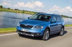Skoda Auto Deutschland GmbH: Echter Abenteurer: SKODA Octavia Combi Scout ab sofort bestellbar