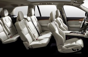 "Johnson Controls Automotive Experience: Johnson Controls contributes to maximum seating comfort in ""Truck of the Year"" Volvo XC90 / Seat covers and padding for the ""rolling living room"""