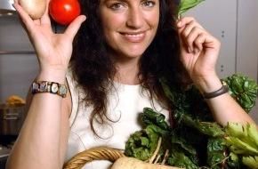 """Bundesanstalt für Landwirtschaft und Ernährung: """"Vollweib"""" setzt auf Bio / Die Schauspielerin Christine Neubauer macht sich für Bioprodukte stark"""