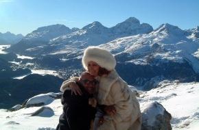 Schweiz Tourismus: Engadin Panorama als Bühnenbild eines Weltstars